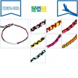 B-401 - Lot de 56 Bracelets fin Bollywood