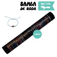 B-538 - Lot de 30 Bracelets GROS coquillage SUR TUBE