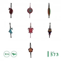 B-573 -Lot 56 Bracelets summer enfants