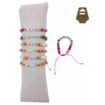 B-737 - Lot de 35 Bracelets Enfants Love