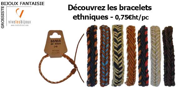 Bracelets ethniques indémodables