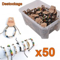 50 bracelets coquillages