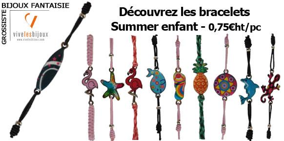 Bracelets Summer Enfant à petit prix
